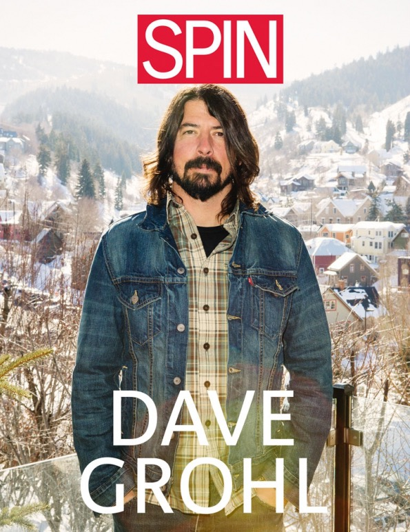 Dave Grohl Spin Cover
