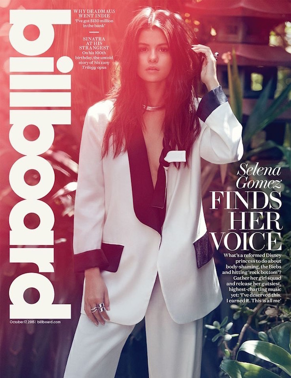 selena gomez billboard cover