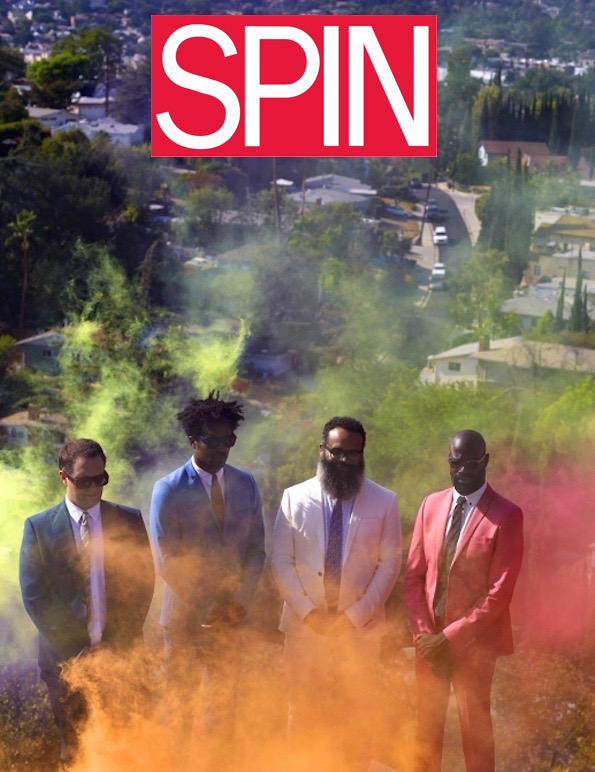 tv on the radio spin cover