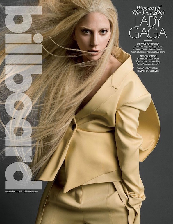 Lady Gaga Billboard Cover