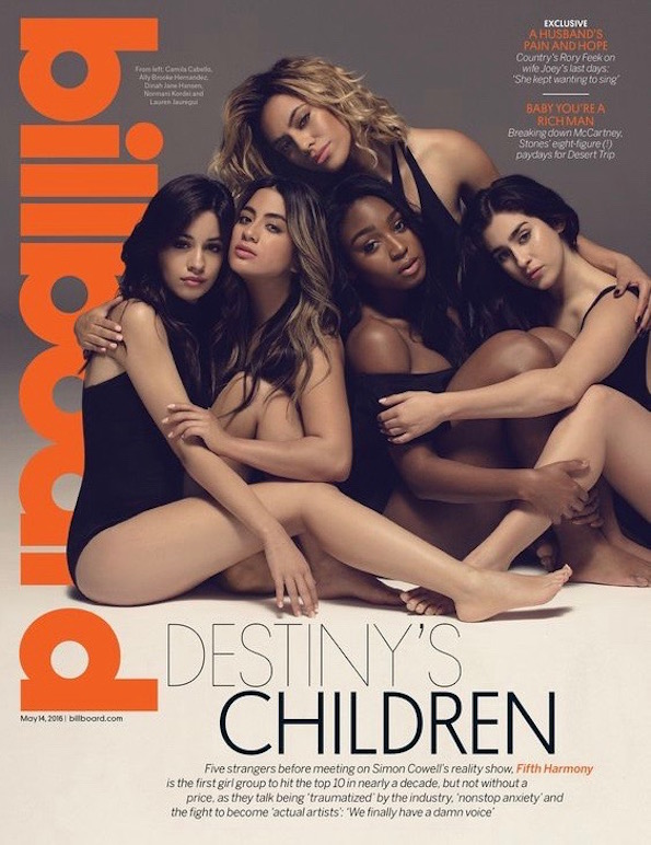 Fifth Harmony Billboard cover