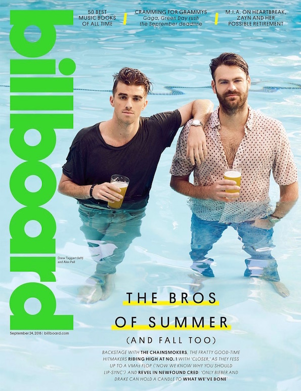 the chainsmokers billboard cover