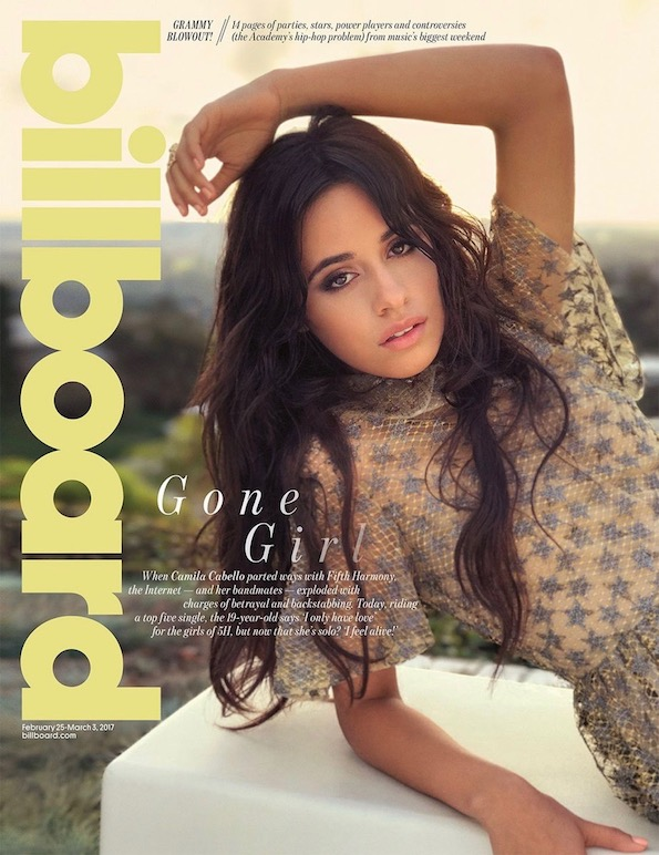 Camila Cabello Billboard Cover