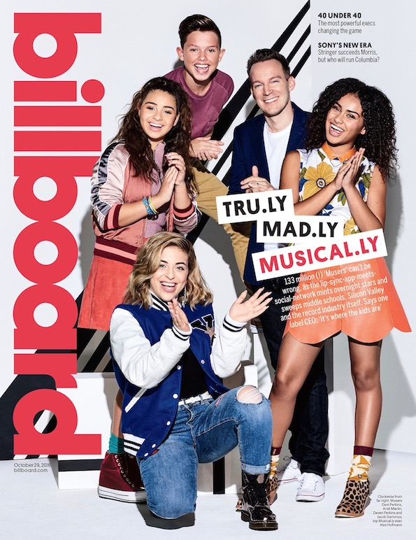 Musical.ly Billboard Cover