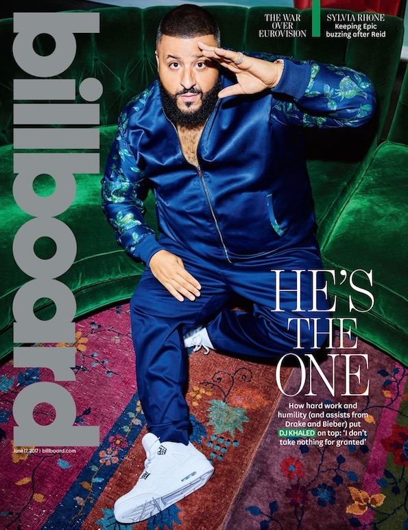 DJ Khaled Billboard Cover